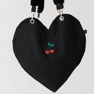 Lazy Oaf Heart Shaped Bag